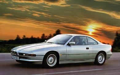 1989 BMW 8-Series wallpaper thumbnail.