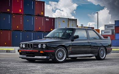1989 BMW M3 Sport Evolution wallpaper thumbnail.