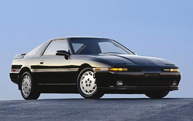 1989 Toyota Supra Turbo wallpaper thumbnail.
