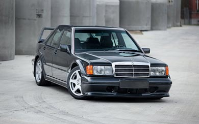 1990 Mercedes-Benz 190E Evolution II wallpaper thumbnail.