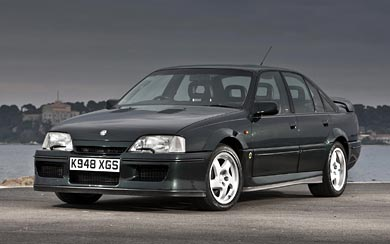 1990 Vauxhall Lotus Carlton wallpaper thumbnail.