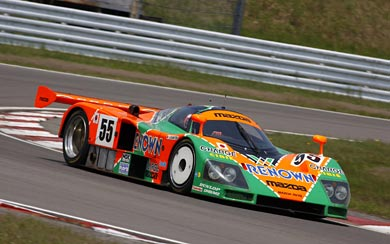 1991 Mazda 787B wallpaper thumbnail.