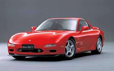 1991 Mazda RX-7 wallpaper thumbnail.
