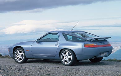 1991 Porsche 928 GTS wallpaper thumbnail.