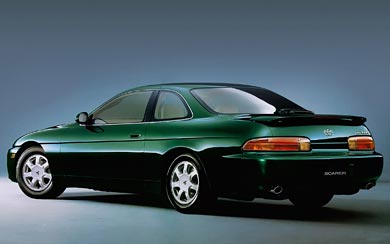 1991 Toyota Soarer wallpaper thumbnail.