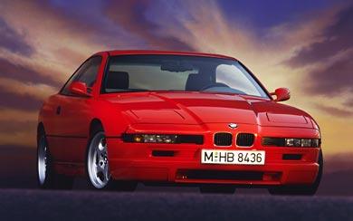 1992 BMW 850 CSi wallpaper thumbnail.