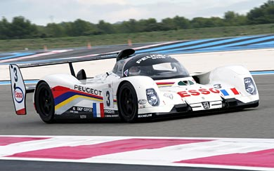 1992 Peugeot 905B wallpaper thumbnail.