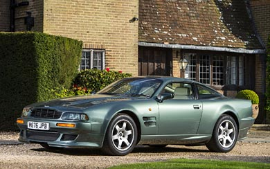 1993 Aston Martin V8 Vantage wallpaper thumbnail.