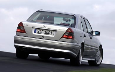 1993 Mercedes-Benz C36 AMG wallpaper thumbnail.