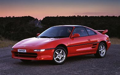 1993 Toyota MR2 wallpaper thumbnail.