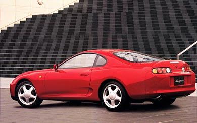 1993 Toyota Supra wallpaper thumbnail.