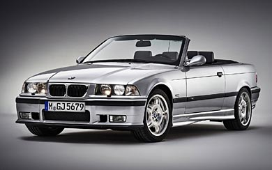 1994 BMW M3 Cabrio wallpaper thumbnail.