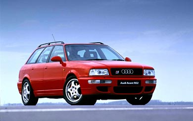 1995 Audi RS2 wallpaper thumbnail.