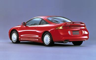 1995 Mitsubishi Eclipse wallpaper thumbnail.