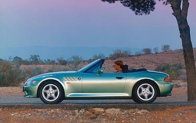 1996 BMW Z3 Roadster wallpaper thumbnail.