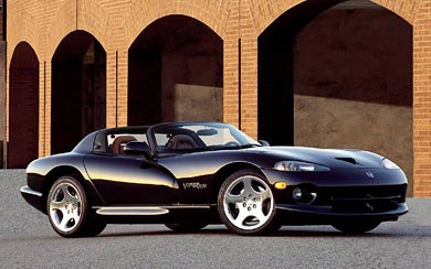 1996 Dodge Viper RT10 Roadster wallpaper thumbnail.