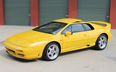1996 Lotus Esprit GT3 wallpaper thumbnail.