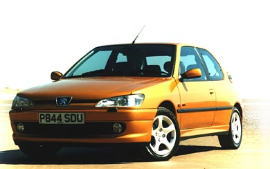 1997 Peugeot 306 GTi-6 wallpaper thumbnail.
