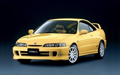 1998 Honda Integra Type R wallpaper thumbnail.