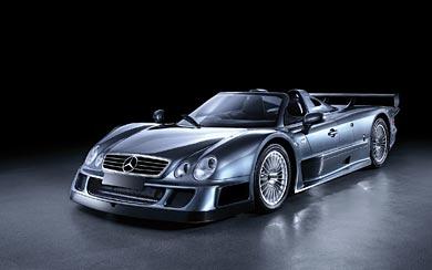 1999 Mercedes-Benz CLK GTR wallpaper thumbnail.