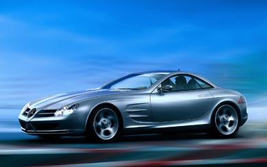 1999 Mercedes-Benz Vision SLR Concept wallpaper thumbnail.
