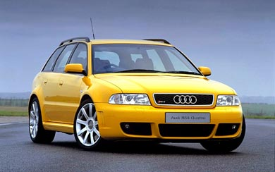 2000 Audi RS4 Avant wallpaper thumbnail.