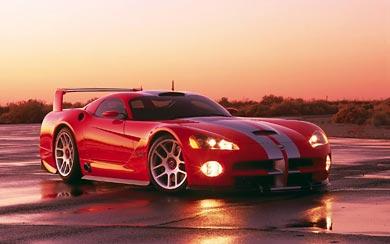 2000 Dodge Viper GTS-R Concept wallpaper thumbnail.