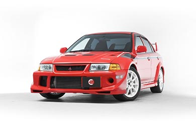 2000 Mitsubishi Lancer Evolution VI Tommi Makinen Edition wallpaper thumbnail.