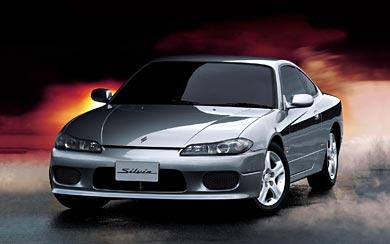 2000 Nissan Silvia wallpaper thumbnail.