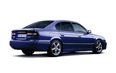 2000 Subaru Legacy B4 RS wallpaper thumbnail.