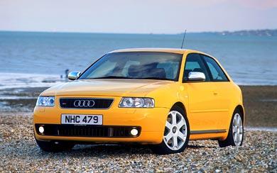 2001 Audi S3 wallpaper thumbnail.