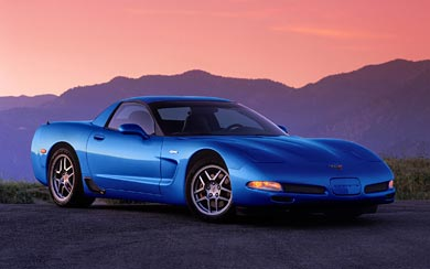 2001 Chevrolet Corvette Z06 wallpaper thumbnail.