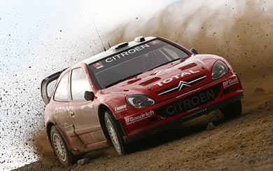 2001 Citroen Xsara WRC wallpaper thumbnail.