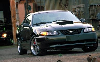 2001 Ford Mustang Bullitt GT wallpaper thumbnail.