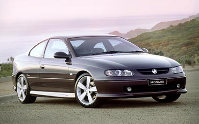 2001 Holden Monaro CV8 wallpaper thumbnail.