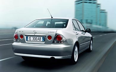 2001 Lexus IS 300 wallpaper thumbnail.