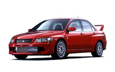 2001 Mitsubishi Lancer GSR Evolution VII wallpaper thumbnail.