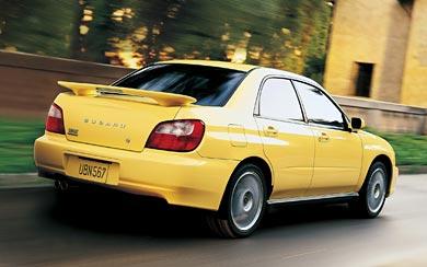 2001 Subaru Impreza WRX wallpaper thumbnail.