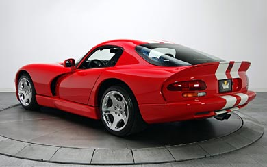 2002 Dodge Viper GTS Final Edition wallpaper thumbnail.