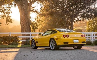 2002 Ferrari 575M Maranello wallpaper thumbnail.