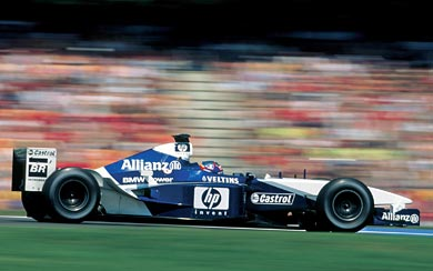 2002 Williams FW24 wallpaper thumbnail.