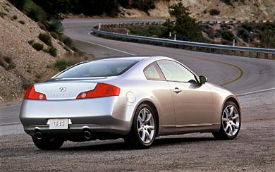 2002 Infiniti G35 Coupe wallpaper thumbnail.