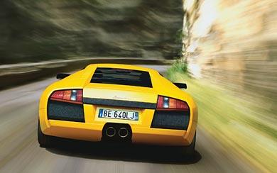 2002 Lamborghini Murcielago wallpaper thumbnail.