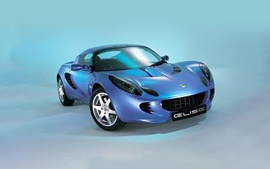 2002 Lotus Elise wallpaper thumbnail.