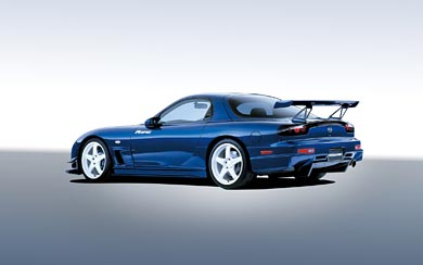 2002 Mazda RX-7 R Spec wallpaper thumbnail.