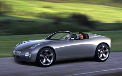 2002 Pontiac Solstice Concept wallpaper thumbnail.