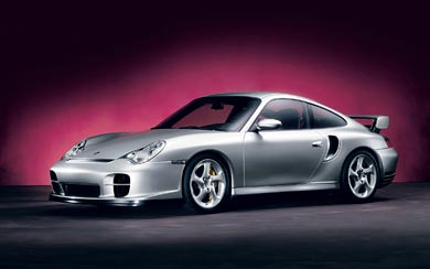 2002 Porsche 911 GT2 wallpaper thumbnail.