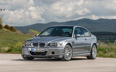 2003 BMW M3 CSL wallpaper thumbnail.