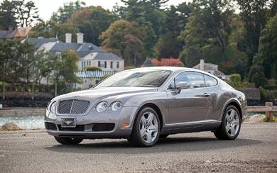 2003 Bentley Continental GT wallpaper thumbnail.
