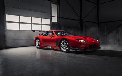 2003 Ferrari 575 GTC Stradale wallpaper thumbnail.